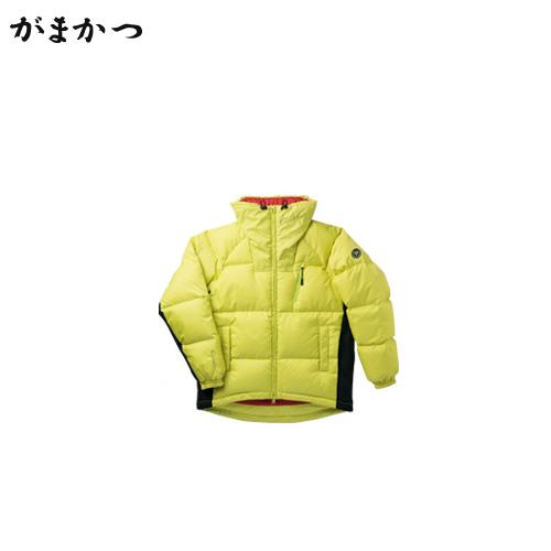 がまかつ ダウンジャケット GM-3491 ライムグリーン (防寒着 防寒ウエア 釣り)