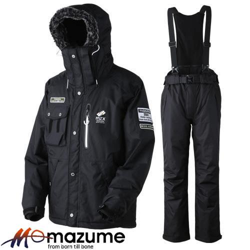 オレンジブルー MZX コア オールウェイザースーツ MZXFW-043 ブラック (防寒着)