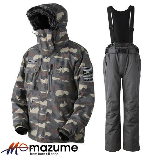 オレンジブルー MZX コア オールウェイザースーツ POP 3 MZXFW-044 カモ (防寒着)