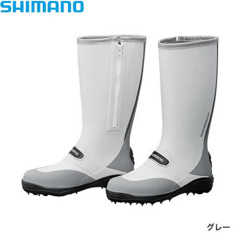 シマノ スパイクブーツ FB-001Q グレー (フィッシングブーツ)