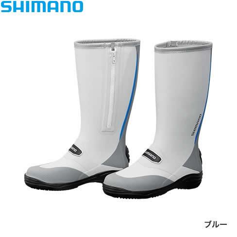シマノ ラジアルブーツ FB-011Q ブルー (フィッシングブーツ)