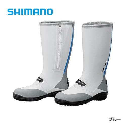シマノ ラジアルブーツW (ワイドタイプ) FB-012Q ブルー (フィッシングブーツ)