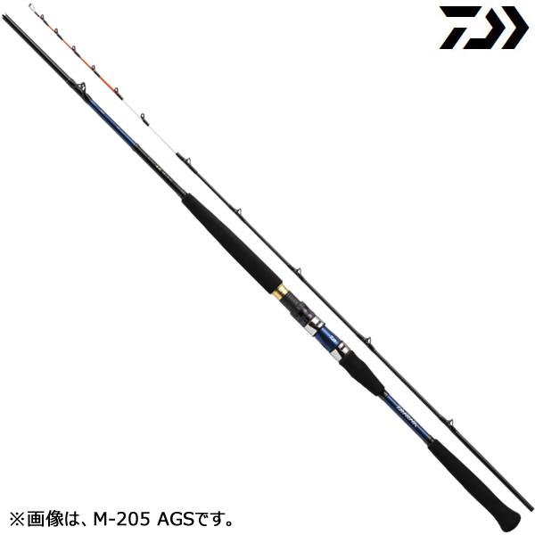 ダイワ 17 極鋭 中深場 M-205 AGS (船竿 釣り竿)
