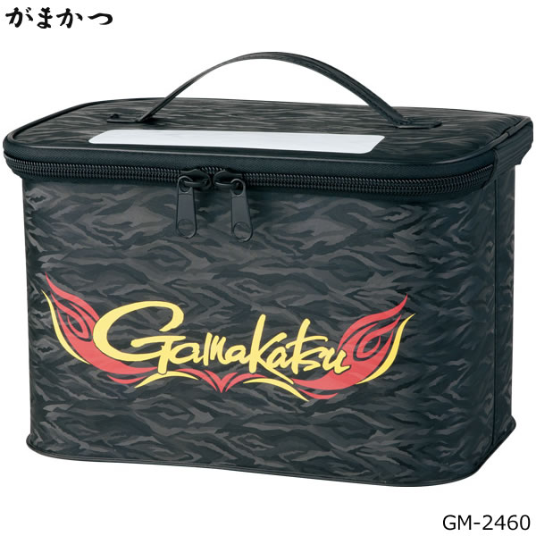 がまかつ シューズキャリー GM-2460 ブラック (シューズバッグ)