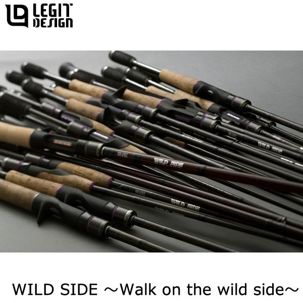 レジットデザイン ワイルドサイド WSC610H (ブラックバス ロッド ベイトキャスティング)(大型商品B)