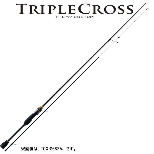 メジャークラフト 17 トリプルクロス TCX-S582AJI (アジングロッド)