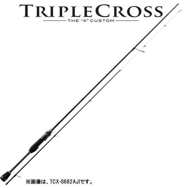 メジャークラフト 17 トリプルクロス TCX-T682AJI (アジングロッド)
