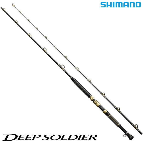 シマノ 17 ディープソルジャー 205 II (船竿)(大型商品A)
