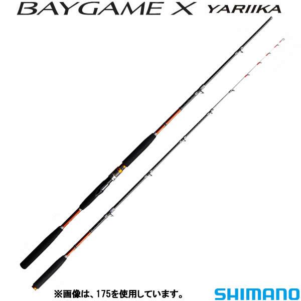 シマノ ベイゲームX ヤリイカ 155 (船竿)