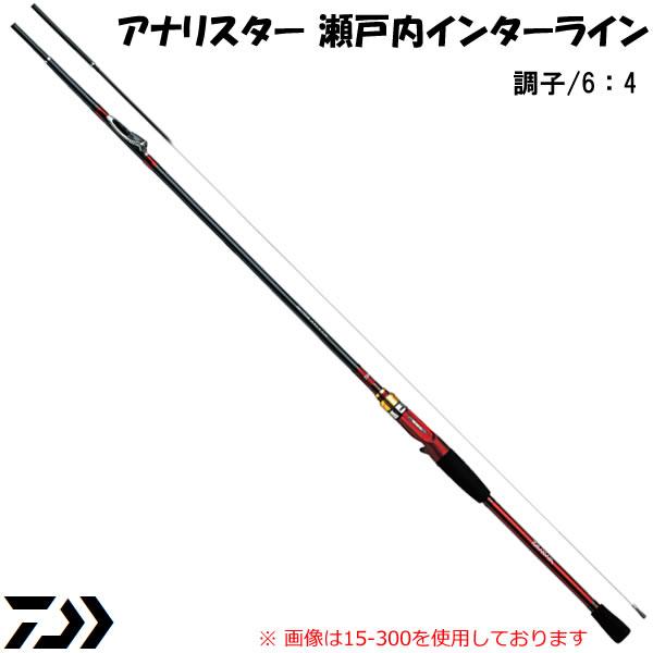 ダイワ アナリスター瀬戸内インターラインT 25号300 (船竿)