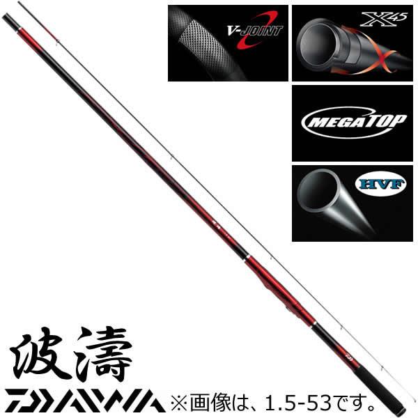 ダイワ 波濤 1.75-50・E (磯竿)
