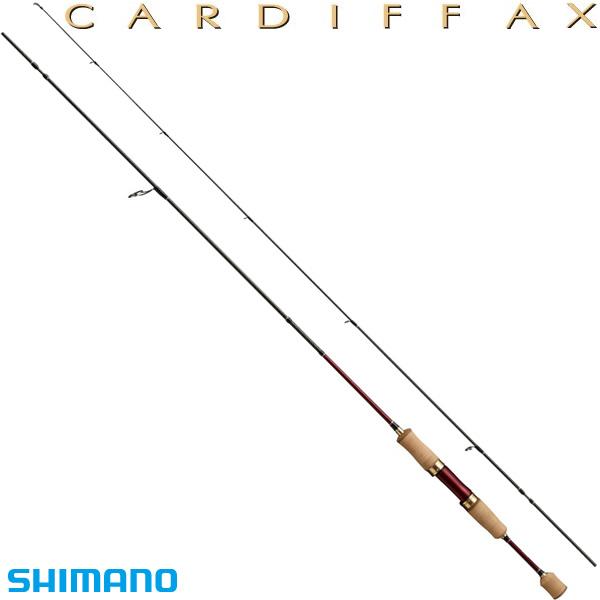 シマノ カーディフAX S60XUL-RG (トラウトロッド)