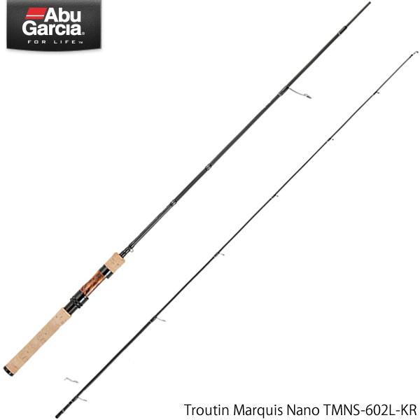 アブガルシア トラウティンマーキス ナノ TMNS-602L-KR (トラウトロッド)