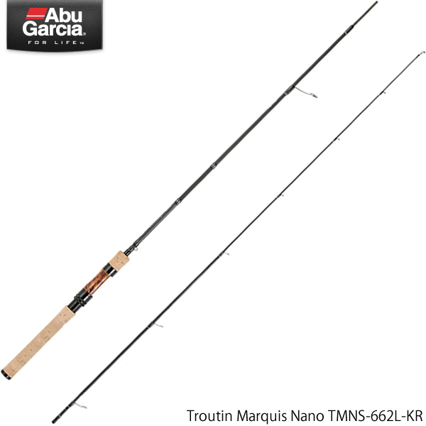 アブガルシア トラウティンマーキス ナノ TMNS-662L-KR (トラウトロッド)