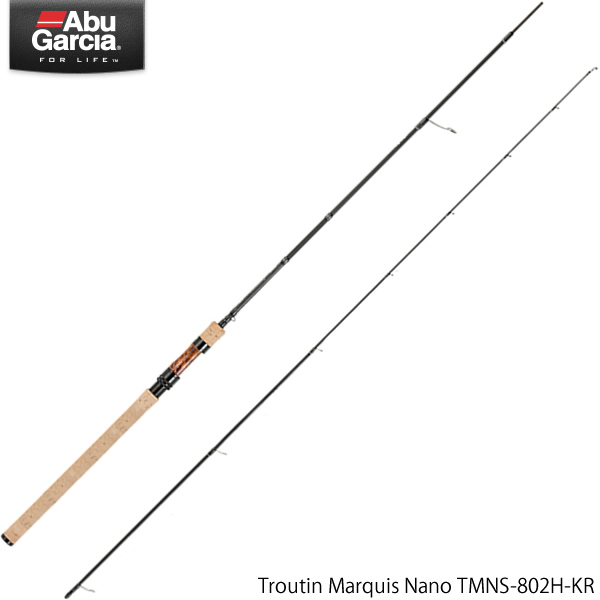 アブガルシア トラウティンマーキス ナノ TMNS-802H-KR (トラウトロッド)