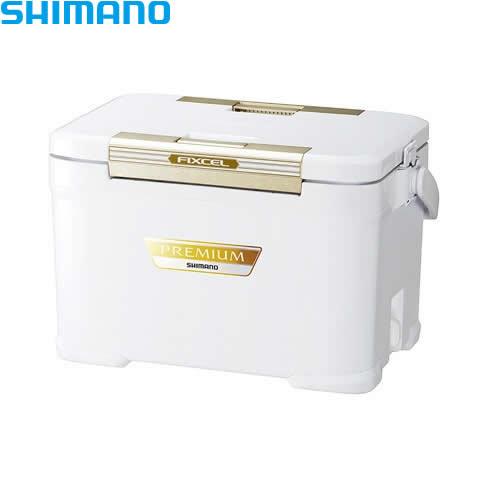 シマノ フィクセル・プレミアム 220・アイスホワイト ZF-022R (クーラーボックス)