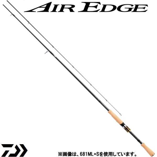 ダイワ エアエッジ (スピニングモデル) 741MS・E (ブラックバスロッド) (大型商品A)