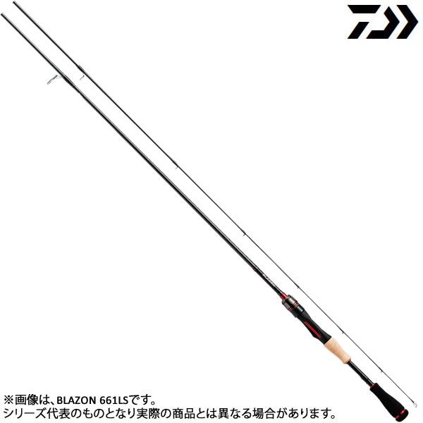 ダイワ 18 ブレイゾン 661MLS・V (ブラックバスロッド)(大型商品A)