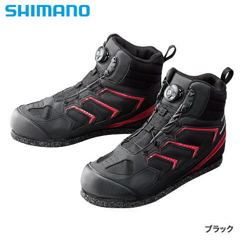 シマノ シマノ DS 3DCPフェルトシューズ(HC) BK FS-085P (フィッシングシューズ)