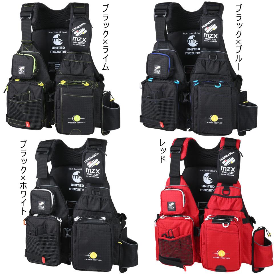 マズメ MZX タイドマニアライフジャケット MZXLJ-049 (ライフジャケット)