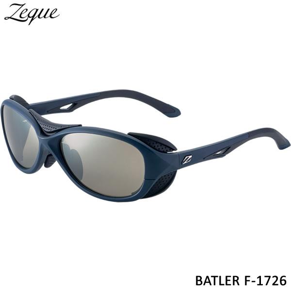 ZEAL (ジール) バトラー F-1726 ネイビー/ブラック トゥルービュースポーツ/シルバーミラー (サングラス 偏光グラス)