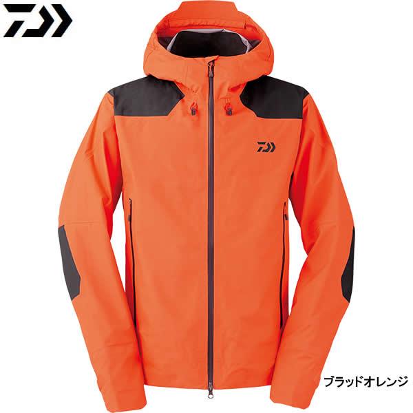 ダイワ レインマックス レインジャケット ブラッドオレンジ DR-2008J S~XL (レインウェア)