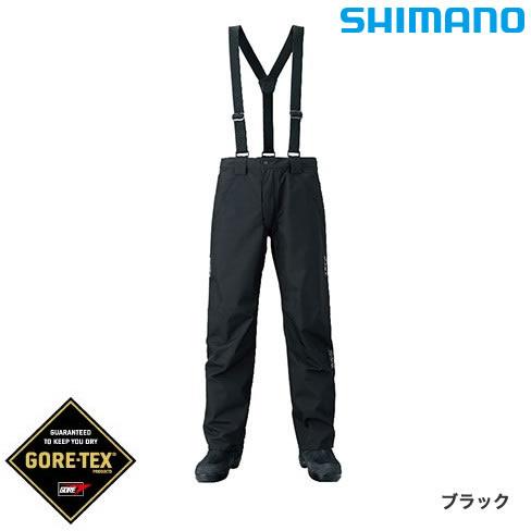 シマノ XEFO ゴアテックス ベーシックパンツ RA-27PR ブラック M~XL (レインウェア)
