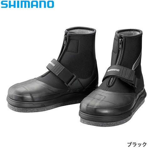 シマノ ジオロック・3Dカットピンフェルト鮎タビ (中割) TA-061R ブラック (鮎タビ)