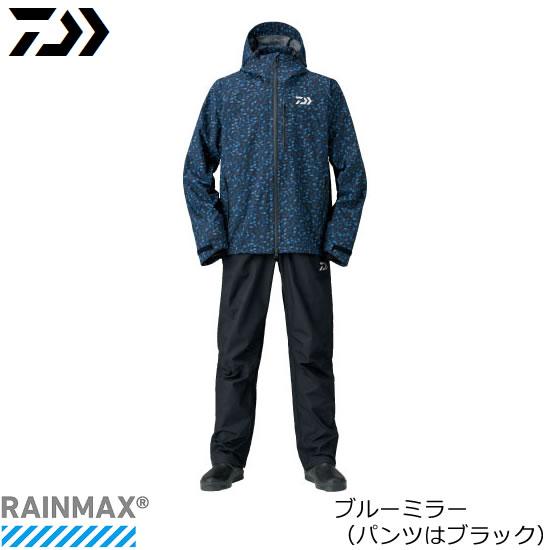 ダイワ レインマックス(R) レインスーツ DR-33008 ブルーミラー M~XL (レインウェア レインスーツ)