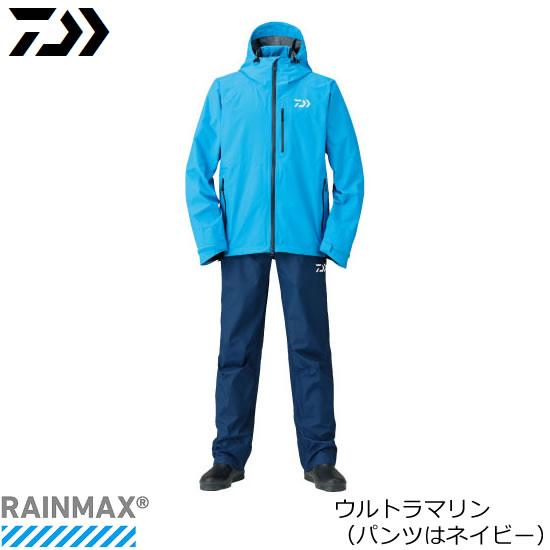 ダイワ レインマックス(R) レインスーツ DR-33008 ウルトラマリン M~XL (レインウェア レインスーツ)