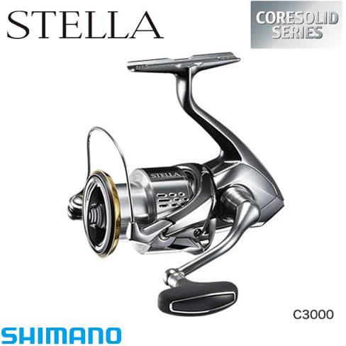 シマノ 18 ステラ C3000 (スピニングリール)