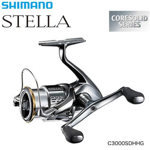 シマノ 18 ステラ C3000SDHHG (スピニングリール)