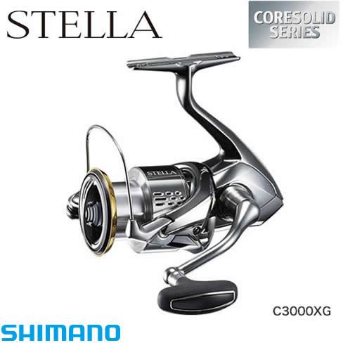シマノ 18 ステラ C3000XG (スピニングリール)