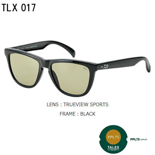 ダイワ 偏光グラス TLX017 トゥルービュースポーツ (偏光サングラス)