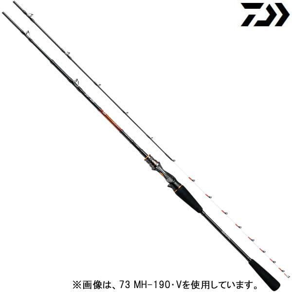 ダイワ 18 リーディング 73 M-190・V (船竿)