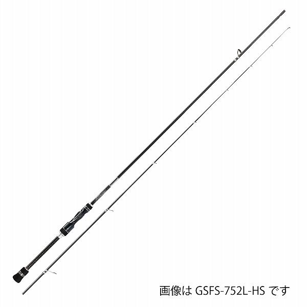 オリムピック グラファイトリーダー 18 Super FINEZZA(スーパーフィネッツァ) GSFS-752L-HS (メバリングロッド)