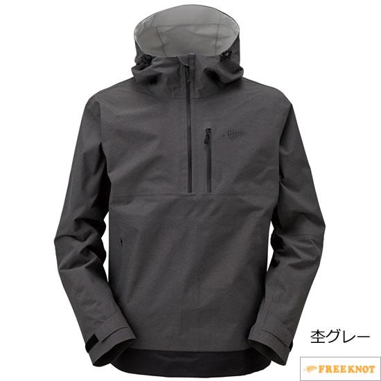 ハヤブサ NITENGO(ニーテンゴ) アノラック Y1131 94.杢グレー S~3L (フィッシングウェア)
