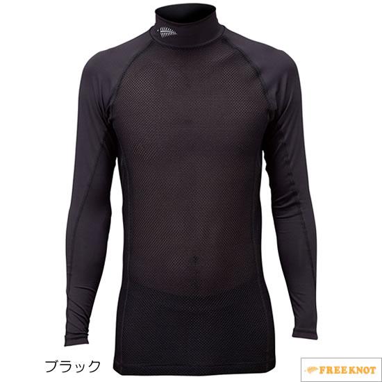 ハヤブサ サンシェード レイヤードアンダーシャツ Y1635 90.ブラック