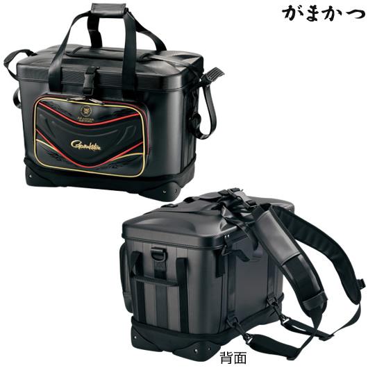 がまかつ がま磯クール 32 ブラック GB-322 (磯クールバッグ)