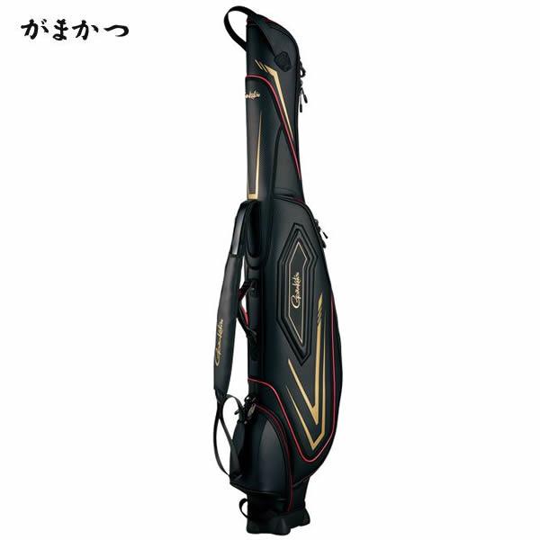 がまかつ がま磯ロッドケース ブラック GC-271 (ロッドケース)(大型商品A)