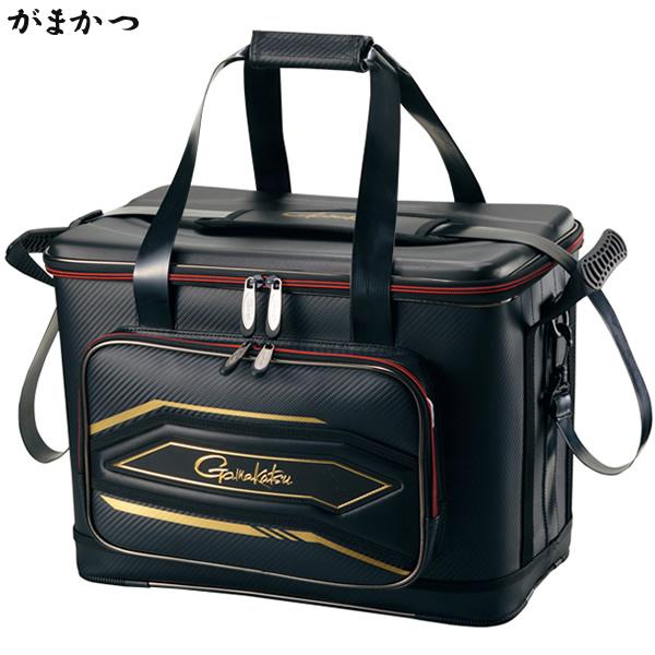 がまかつ フィッシングバッグ25 ブラック GB-325 (タックルバッグ)