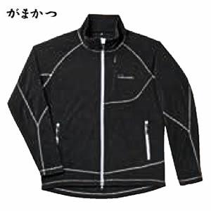 がまかつ ファインフリースジャケット GM-3501 ブラック (フリースジャケット)