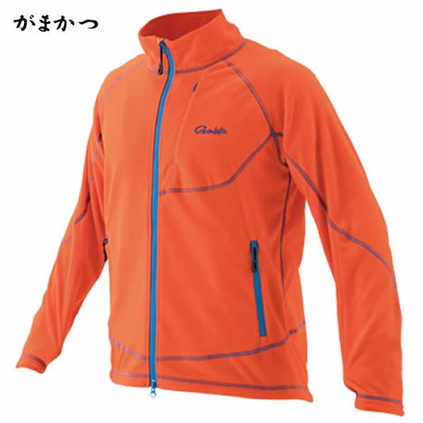 がまかつ ファインフリースジャケット GM-3501 オレンジ (フリースジャケット)