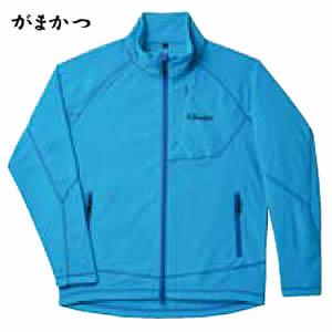 がまかつ ファインフリースジャケット GM-3501 ブルー (フリースジャケット)