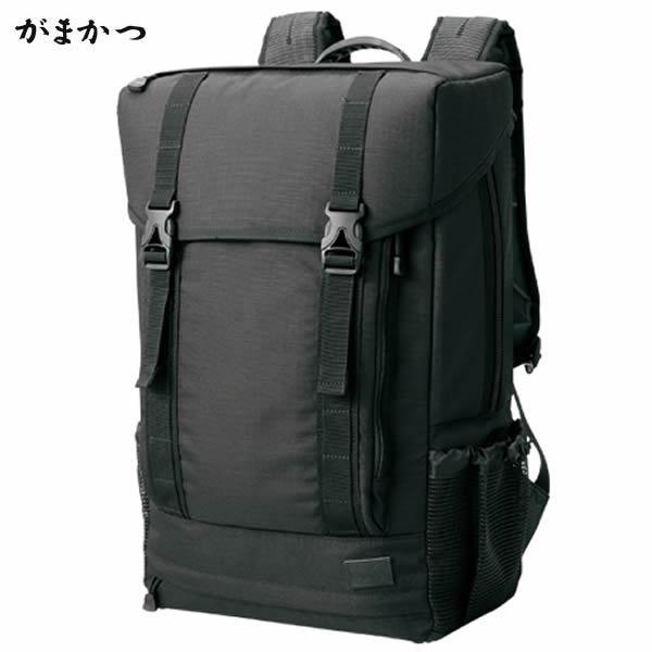 がまかつ タックルデイバッグ GB-353 ブラック 26L (タックルバッグ)