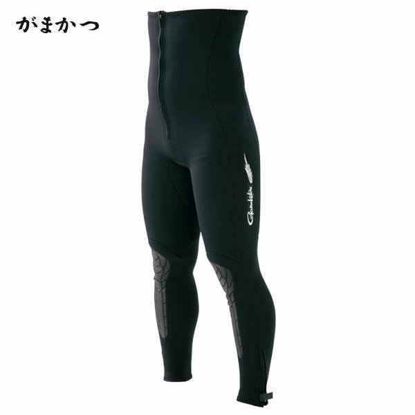 がまかつ 鮎タイツ(1.5mm) ブラック GM-5807 (鮎タイツ)