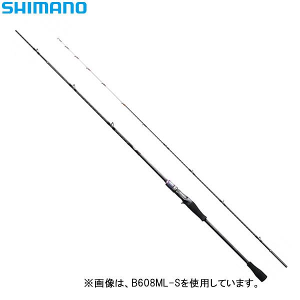 シマノ サーベルマスターSS スティック B606MH-S (船竿)