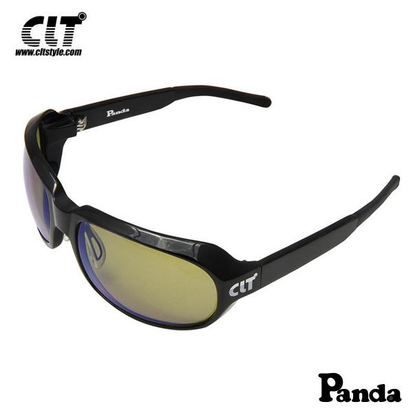 CLT Panda パンダ ブラック/リーフグリーン(サングラス 偏光グラス)