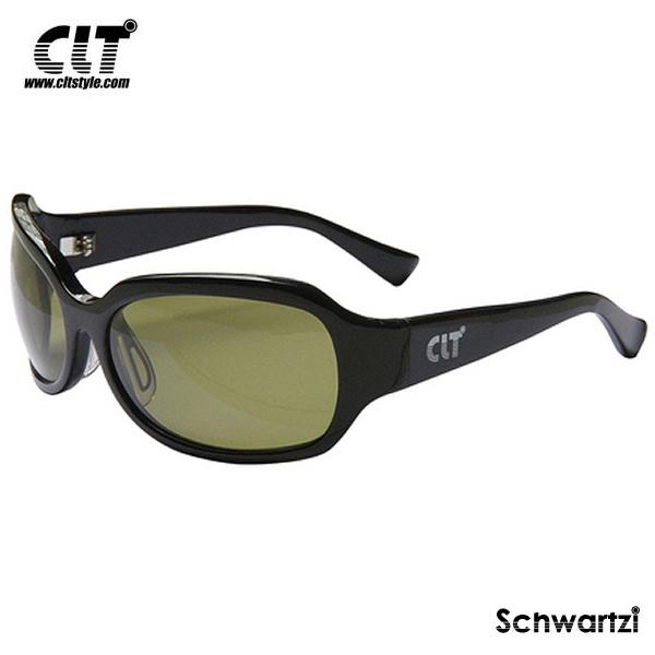 CLT シュワルツィ ブラック/リーフグリーン(サングラス 偏光グラス) schwartzi
