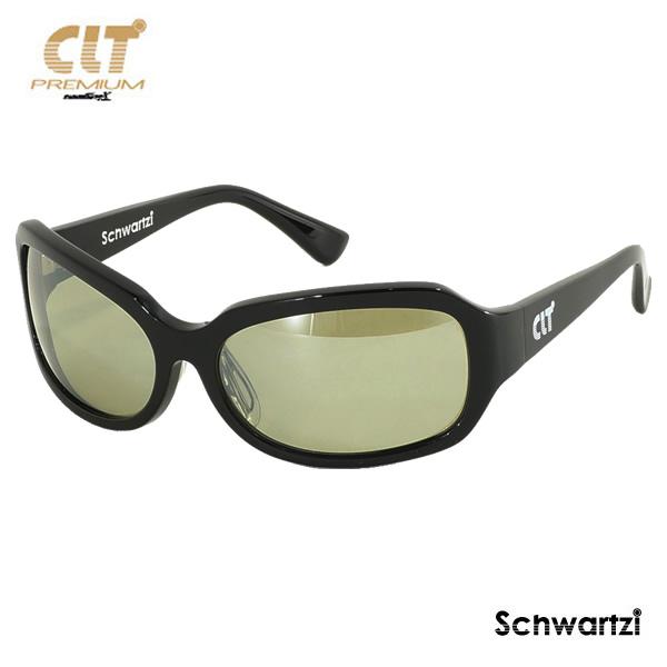 CLT プレミアム Correa コルレア ブラック/ハンターグリーン/シルバーミラー(サングラス 偏光グラス)